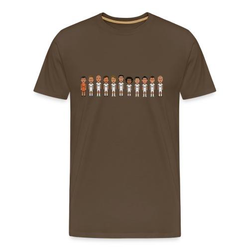 Los Merengues Line - Men's Premium T-Shirt