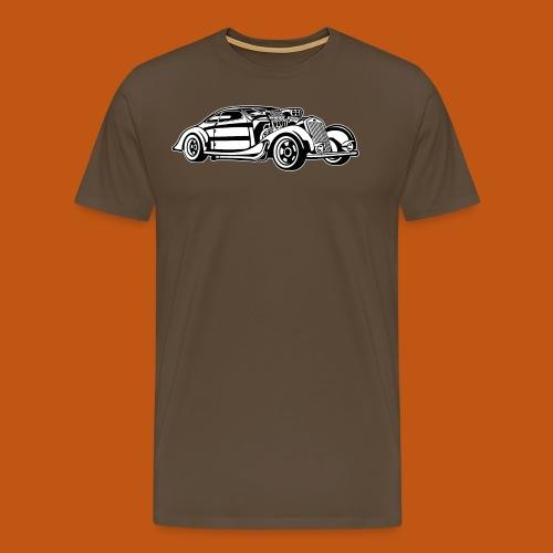 Hot Rod / Rad Rod 05_schwarz weiß - Männer Premium T-Shirt