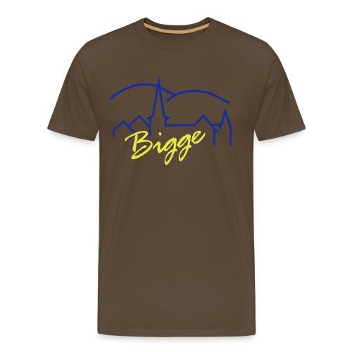 biggetshirtdruck - Männer Premium T-Shirt
