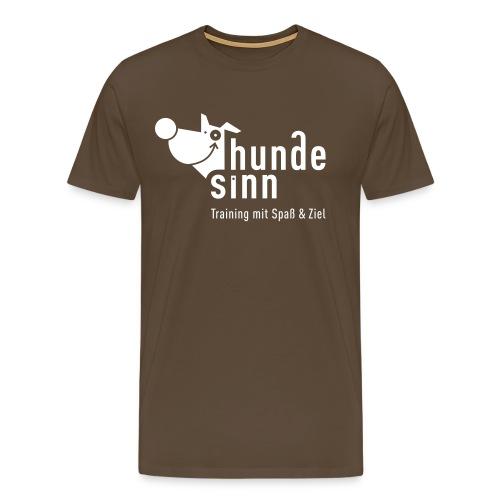 HundeSinn invertiert R - Männer Premium T-Shirt