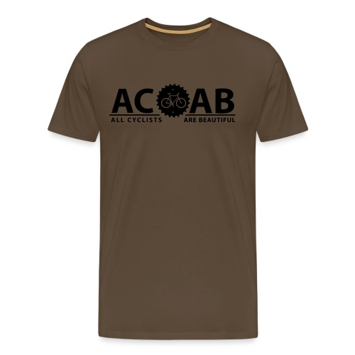 ACAB All Cyclists Are Beautiful T-Shirts - Männer Premium T-Shirt