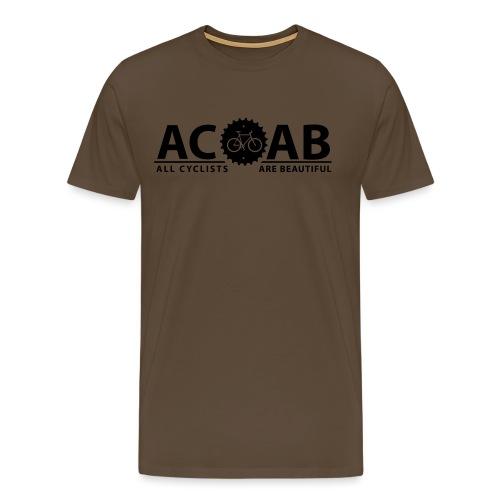 ACAB All Cyclists Are Beautiful T-Shirts - Männer Premium T-Shirt
