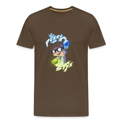 pixel 1 png - Men's Premium T-Shirt