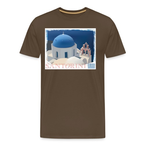 Beautiful Santorini - Men's Premium T-Shirt