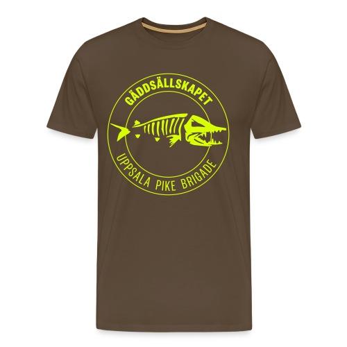 GSUPB - vit - Premium-T-shirt herr