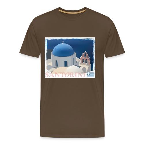 Beautiful Santorini - Men's Premium T-Shirt