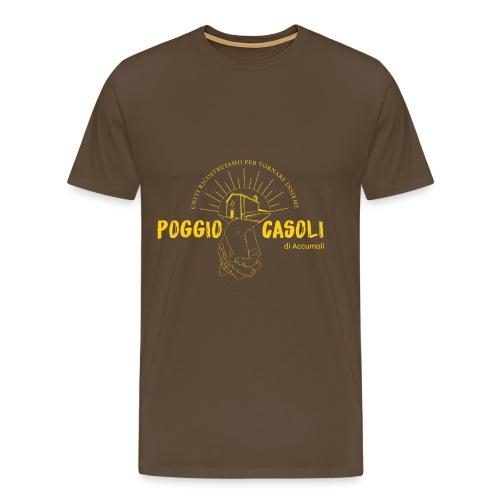 Poggio Casoli_Istituzionale_Giallo - Maglietta Premium da uomo