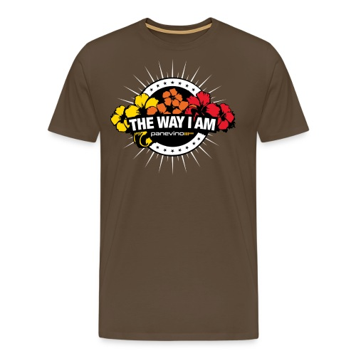 T Shirt The Way I Am Miami 2020 White - Männer Premium T-Shirt