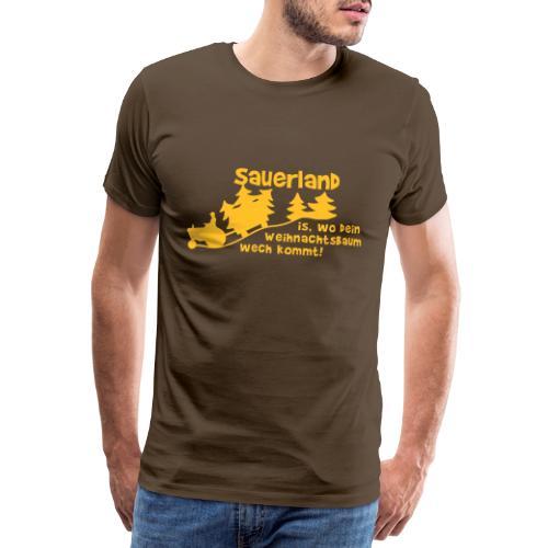 Weihnachtsbaum - Männer Premium T-Shirt