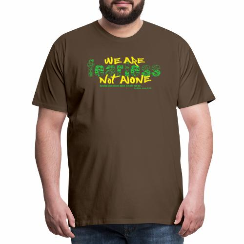 fearless - we are not alone - Männer Premium T-Shirt