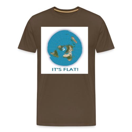its flat - Men's Premium T-Shirt