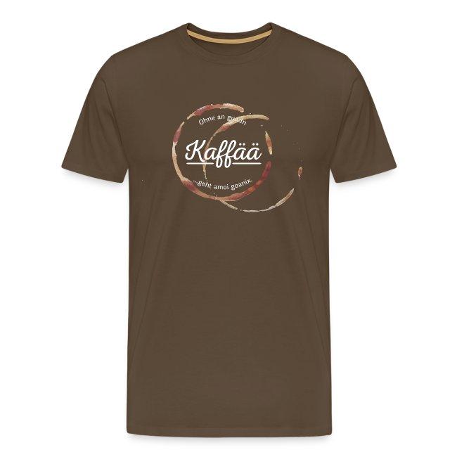 Vorschau: A guada Kaffää - Männer Premium T-Shirt