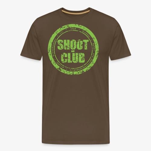 Shoot club Kreislogo neu - Männer Premium T-Shirt