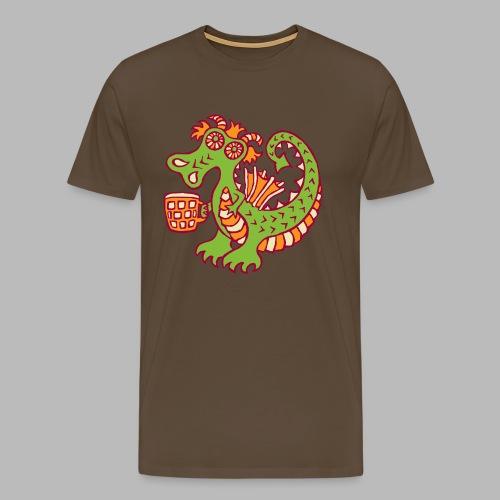 BEER QUAFFER - Men's Premium T-Shirt