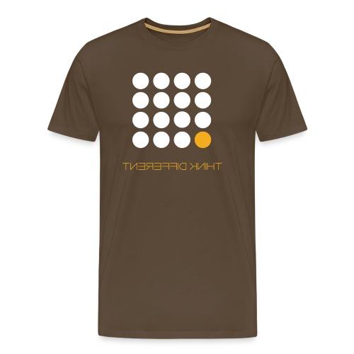 Think Different B. Yellow - Men's Premium T-Shirt