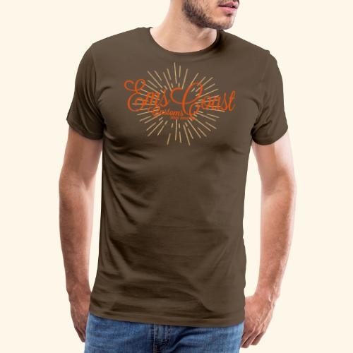 emscoastcustoms logo - Männer Premium T-Shirt