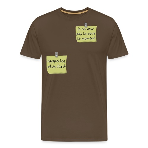 humoristique post-it - T-shirt Premium Homme