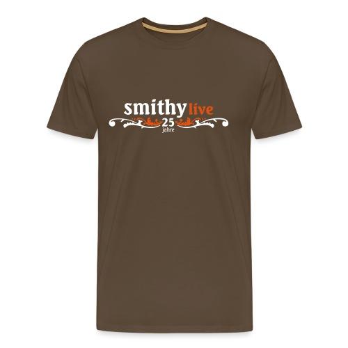 SMITHY_25 jahre_neg - Männer Premium T-Shirt