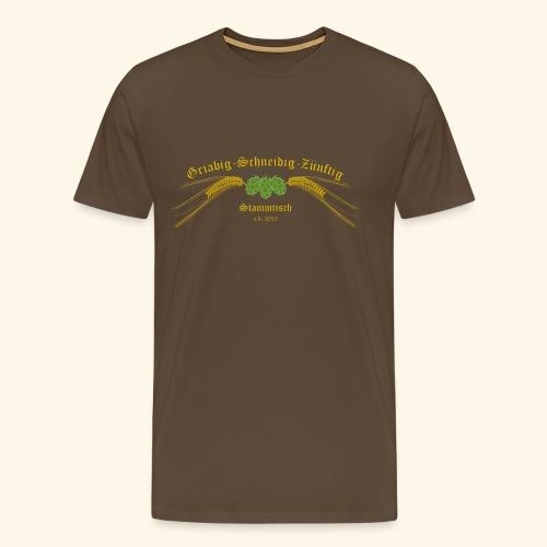 gsz logo 001 - Männer Premium T-Shirt