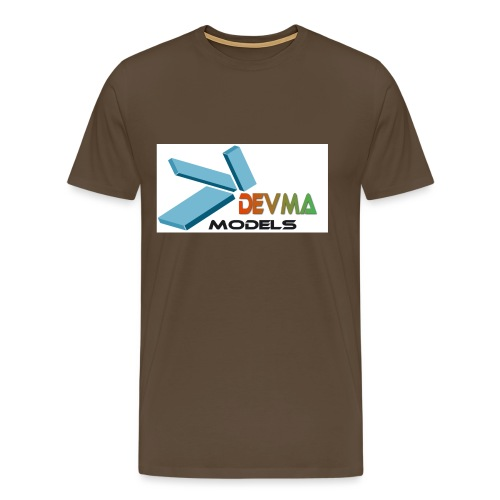 Devma Models Logo - Männer Premium T-Shirt
