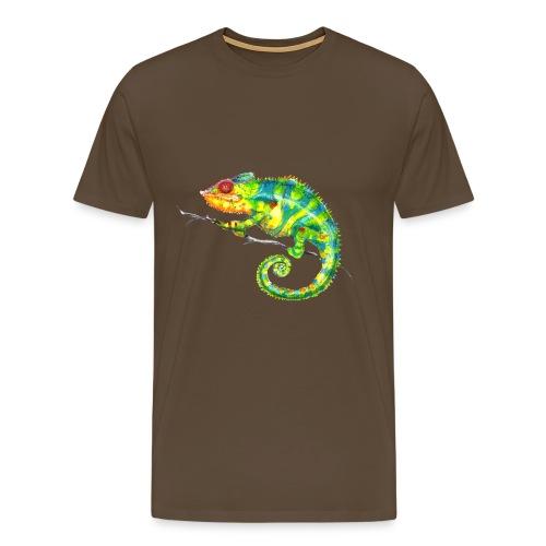 MIKO Chamäleon Chamaeleon Chameleon - Männer Premium T-Shirt