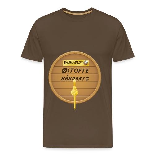 Østofte Håndbryg Tønde - Herre premium T-shirt