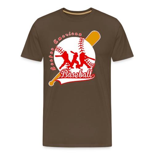 baseball league american - T-shirt Premium Homme