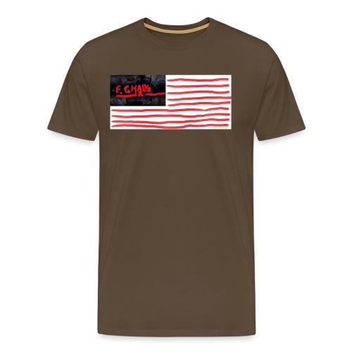 ^A89E7C1A66BF6F4360A383D3 - Premium T-skjorte for menn