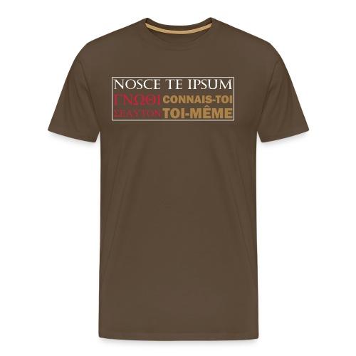 Connais-toi toi-même - T-shirt Premium Homme