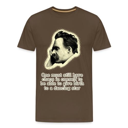 Nietzsche Meme - Men's Premium T-Shirt