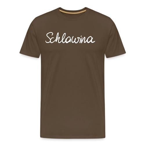 Schlawina - Männer Premium T-Shirt
