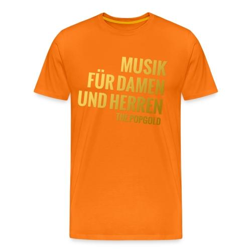 goldig - Männer Premium T-Shirt