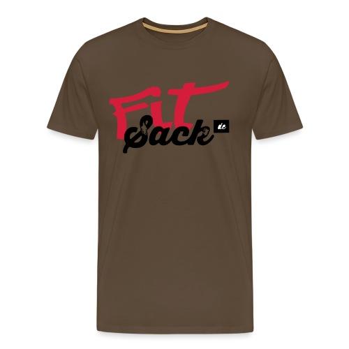 fitsack Schriftzug 2 - Männer Premium T-Shirt