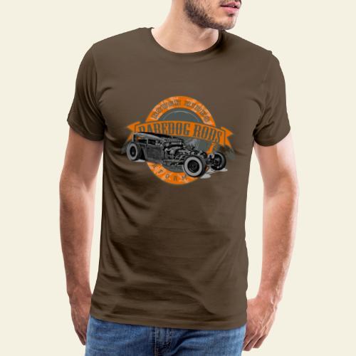 Raredog Rods Logo - Herre premium T-shirt