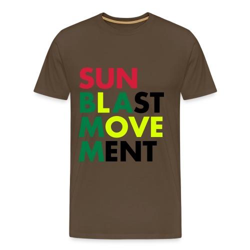 Sunblast Movement Love - Männer Premium T-Shirt
