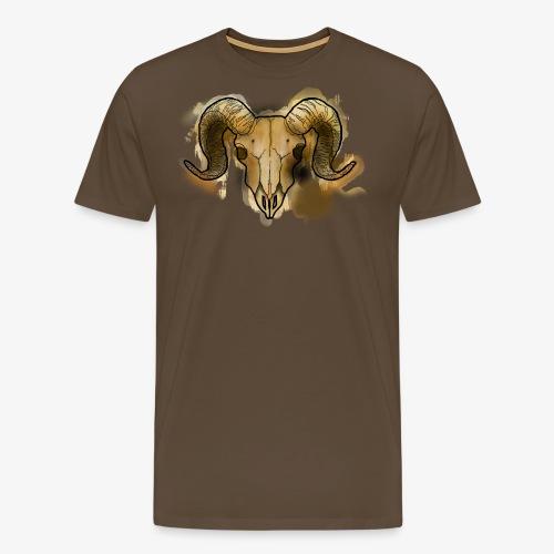 LAMMSKALLE By TheRawburt - Premium-T-shirt herr