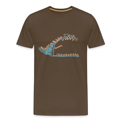 Angry, cranky monster - Mannen Premium T-shirt