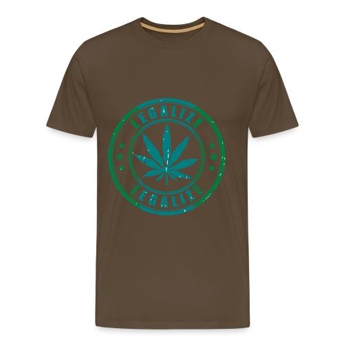 Legalize - Männer Premium T-Shirt