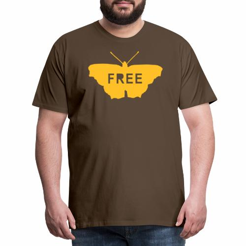 Free Butterfly - Men's Premium T-Shirt