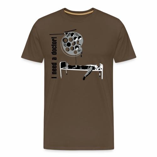 doctortschin text dark - Männer Premium T-Shirt