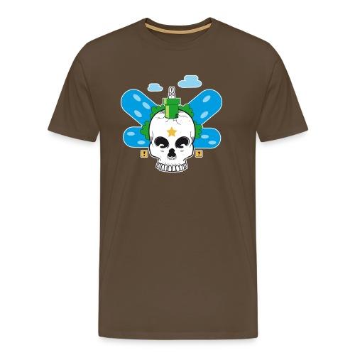 skull world - Men's Premium T-Shirt