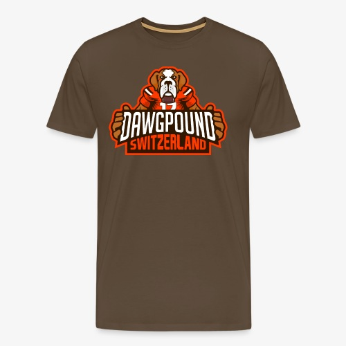 Dawgpound Switzerland Header - Männer Premium T-Shirt