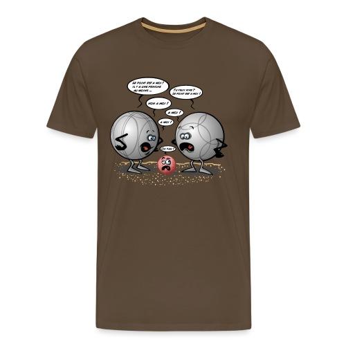 Discorde pétanque - T-shirt Premium Homme