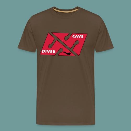 cave_diver_01 - T-shirt Premium Homme
