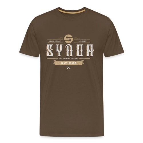 Superold Synoa, grungy style - Men's Premium T-Shirt