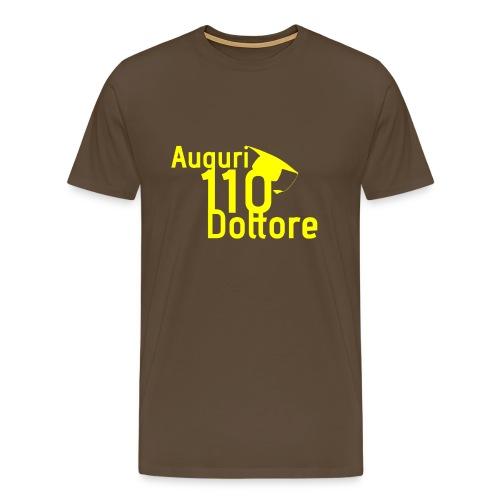 Auguri 110 Dottore Giallo - Maglietta Premium da uomo