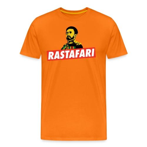 Rastafari - Haile Selassie - HIM - Jah Rastafara - Männer Premium T-Shirt