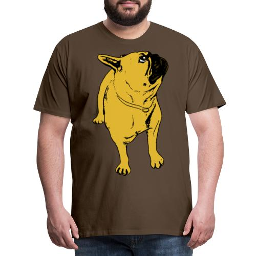 Ruskesnusk - Premium T-skjorte for menn