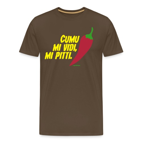 cumu mi vidi - Maglietta Premium da uomo
