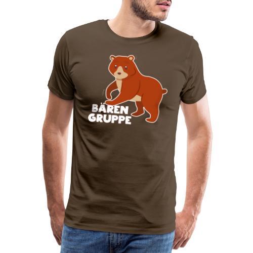 Bären Gruppe Kindergarten - Männer Premium T-Shirt